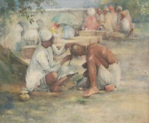 CLEARANCE R Fogarty painting - India