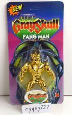 MOTU, Powers of Grayskull Fang Man, Gold custom, MOC, sealed figure, He-Man