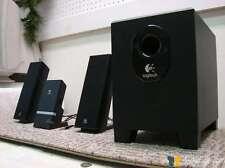 ‡ NEED TLC ‡ Logitech X-240 2.1 Surround Computer Speaker System Black Subwoofer