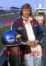 Ronnie Peterson JPS LOTUS F1 PORTRAIT PHOTOGRAPHIE DE 1974 3