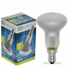 R50 Reflector Halogen Energy Saving 60w Light Bulbs E14 Edison Ses Pack of 5