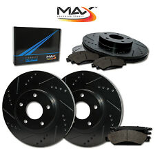 [Front + Rear] Rotors w/Metallic Pad Elite Brakes Fits 2009 10 11 2012 Elantra