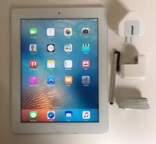 EXCELLENT  iPad 4th Generation 64GB, Wi-Fi + Cell (Unlocked), 9.7in - White..