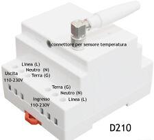 CONTROLLORE ELETTRONICO GSM POWER CONTROL SIMPAL-D210 GESTIONE CON SMS NOVITA'