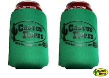 Cactus Ropes Drink Koozies 2-Pack Green New Free Shipping