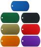 10-Pack Aluminum Color Dog Tags Wholesale Military GI ID Dogtags
