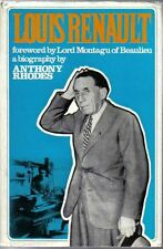 Louis Renault A Biography by A Rhodes 1969 Cassell inc Henry Ford Andre Citroen