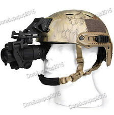 AORUEY  Helmet With Infrared Hd Night-vision Monocular Telescope IR Digital Set