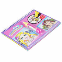 COOLPLAY Magic Water Drawing Book Coloring Book Doodle with Magic Pen Paint T6O7