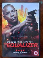 The Égaliseur DVD 2014 Crime Thriller Vigilante Film Largeur/Denzel Washington