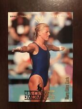 1996 Upper Deck U. S. Olympic #86 - Mary Ellen Clark - Platform Diving