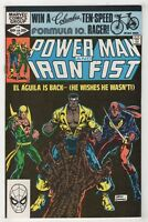 Power Man Iron Fist #78 1982 [3rd Appearance Sabretooth] Constrictor Luke Cage /