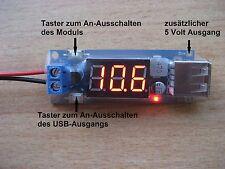 USB-CARICABATTERIE 5 VOLT/2 AMPERE PER CELLULARE, FPV GOPRO, ecc.