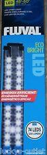 "Fluval Eco Bright LED Aquarium Adjustable Light Fixture 48-60"" Fish Lamp 13579"