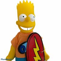 """Vintage 1990 Burger King 9"""" Bart Simpson Collectable Doll Meet the Simpsons Toy"""