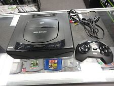 Sega Saturn Video Game Console System Complete
