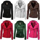 Womens Hooded Hoodie Sweatshirt Sport Wear Zip Coat Jacket Jumper Tracksuit Top