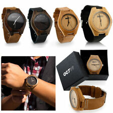 Bamboo Case Luxury Wooden Strap Wristwatches