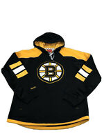 Reebok Face Off NHL Men Boston Bruins Hoodie Size Small