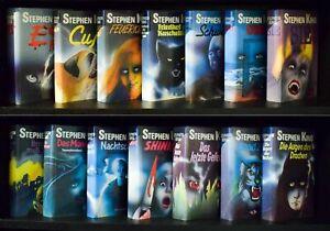 Stephen King - Sammlung komplett 14 gebundene Bände Sammleredition Bücherbund
