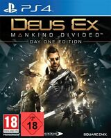 PS4 Spiel Deus Ex: Mankind Divided Day 1 Edition  NEUWARE