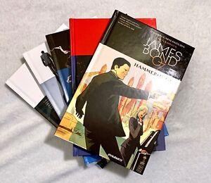 Lot (5) JAMES BOND DYNAMITE COMICS HARDCOVER GRAPHIC NOVELS WARREN ELLIS 007