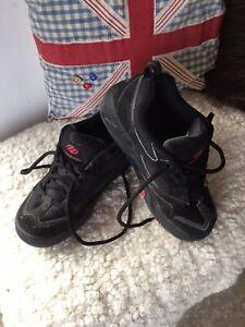 Unisex Heelys Heeleys Adult UK Size 6, Black And Red