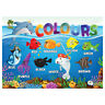 Colours First Learning Poster Wall Chart Educational Kids Child Pirates Theme