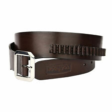 Tourbon Real Leather Bandolier Cartridge Belt Ammo Carrier Gun Rimfire .22 USA