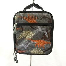 Pottery Barn Kids Lunch Bag Gray Dinosaur Print Lunch Container
