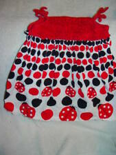 Rare Too, Lady Bug Toddler Dress Size 24 Months