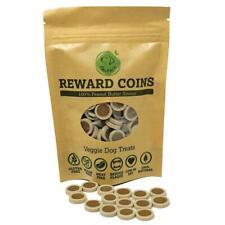 Peanut Butter  Vegan Dog Treat Reward Coins  Xylitol Meat, Sugar and Gluten Free