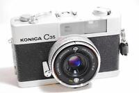 [EXCELLENT++] Konica C35 Rangefinder Film Camera /Hexanon 38mm F2.8 Lens