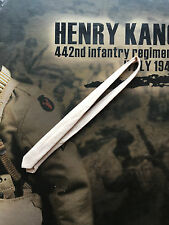 Soldier Story Henry Kano 442nd Infantry 1943 Cream Tie loose 1/6th scale