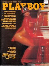 Playboy Mar 76 Emmanuelle Norman Lear Springsteen Huey Long Assassination Nudes