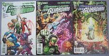 GREEN LANTERN NEW GUARDIANS DC Comics PB #1 #2 #3 NEAR FINE Bedard Kirkham Batt