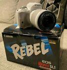 Canon EOS Rebel SL1 18.0MP Digital SLR Camera - White with 18-55mm Lens