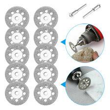 10+2 Diamond Cutting Wheel For Dremel Rotary Tool Die Grinder Metal Cut Off Disc