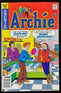 """ARCHIE #271 🔑 """"PEARL NECKLACE"""" INNUENDO COVER   VG+"""