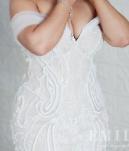 Pallas Couture Wedding Dress RRP $17,500