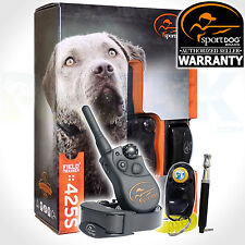 SportDOG SD-425S Remote FieldTrainer Stubborn Big Dog Smart Shock Train Collar