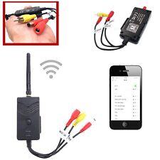Wifi Cámara Retrovisora para Coche Transmisor retrovisor de video en tiempo real para iPhone Android