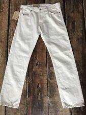 Denim Supply Ralph Lauren Coolidge Straight Jeans White Mens 33x32 New