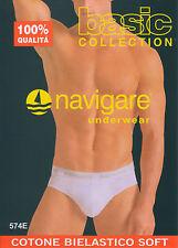 Navigare Intimo Uomo Large (taglia produttore 5) Bianco