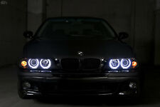 4 Factory XENON Model 97-00 BMW E39 D2S WHITE LED ANGEL HEADLIGHT + AUTO-LEVEL