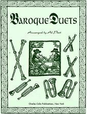 Baroque Duets: Bach, Vivaldi, Handel (flute arr.Al Past-CharlesColinPublications