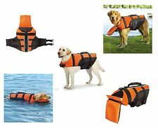 Deluxe Detachable Pillow Vest for Dogs - Water Safety Dog Flotation Life Vests
