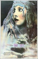 Stevie Nicks Indianapolis 1983 Concert Poster Fleetwood Mac