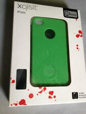 Xqisit iplate plastique dur coque arrière/cover pour APPLE iPHONE 4 4S-vert XQ4009