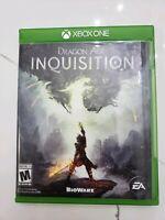 Dragon Age Inquisition (Microsoft Xbox One, 2014) Mature 17+